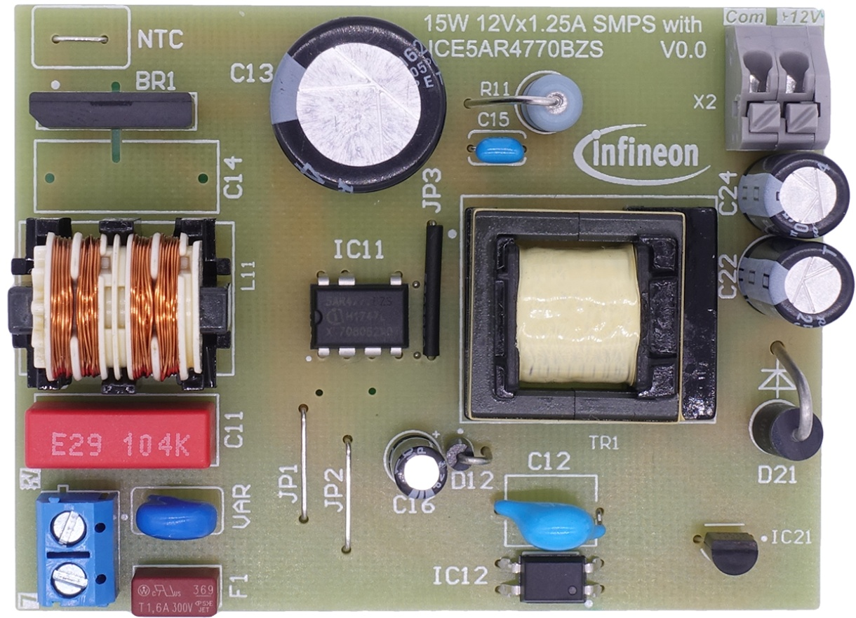 Ref 5ar4770bzs 15w1 Infineon Technologies Ac Constantcurrent Source Design Electrical Engineering Stack Report Reference 15w Auxiliary Smps For Air Conditioner Using Ice5ar4770bzs