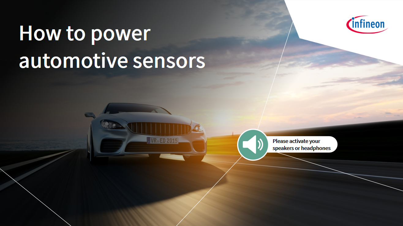 How to power automotive sensors
