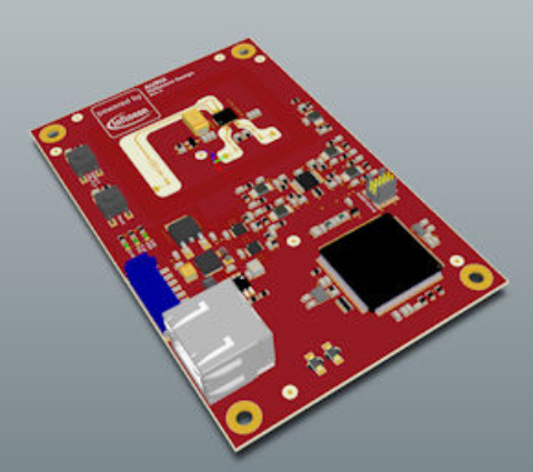 Microcontroller AURIX starter and application kits: Automotive 24GHz radar development kit