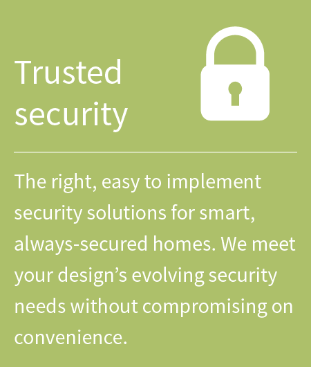 banner, trusted security