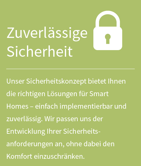 Smart Home: Sicherheit