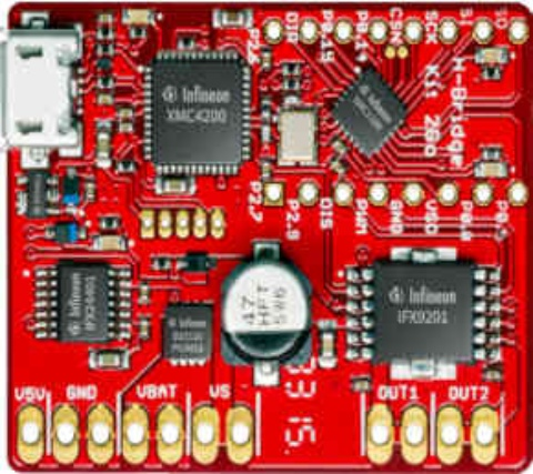 Evaluation Board H-BRIDGE Kit 2GO