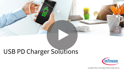 USB-PD charger, high density, high efficiency, digital power, quick charger