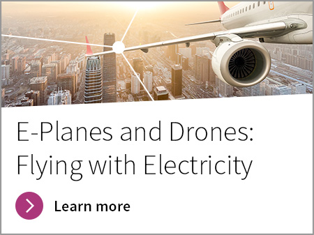 E planes and drones discovery banner