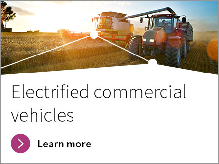 Semiconductors for Commercial, construction and agricultural vehicles (CAV) applications