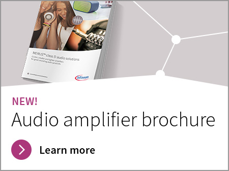 audio amplifier brochure