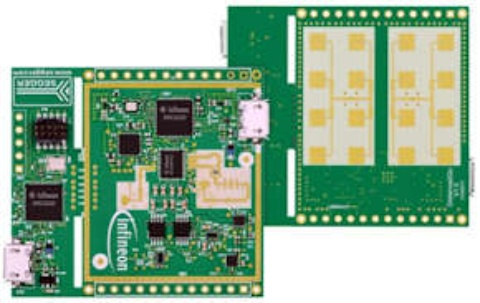 Evaluation boards Distance2Go multicopter demoboard