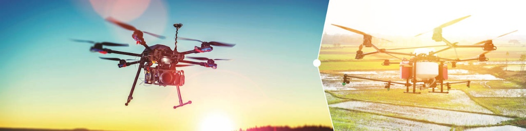 Multicopters and drones - Infineon Technologies
