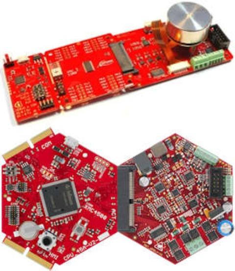 Evaluation boards XCM1000 and XMC4400 multicopter demoboard