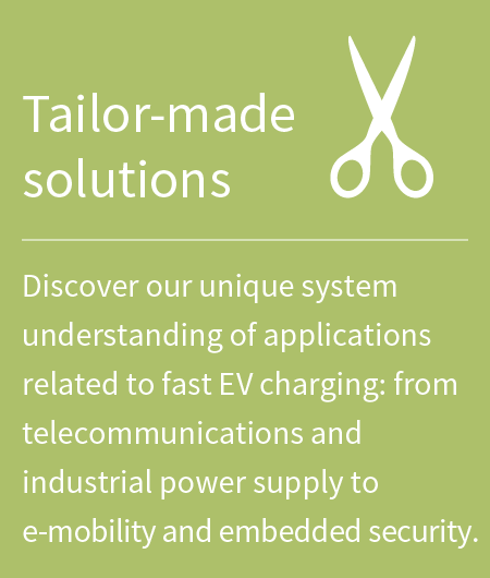 EV charging tailor made solutions