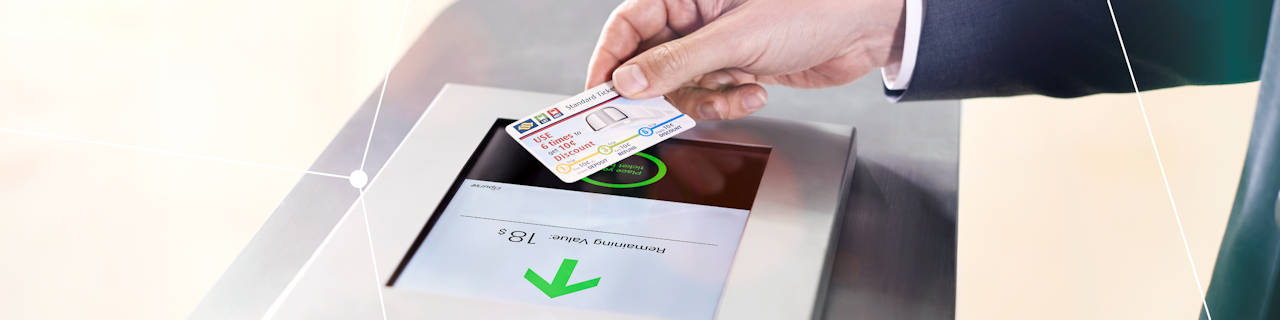 Smart card and security: Transport ticketing