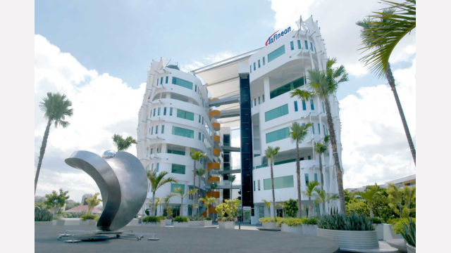 Singapore is Infineon's regional headquarter for Asia-Pacific