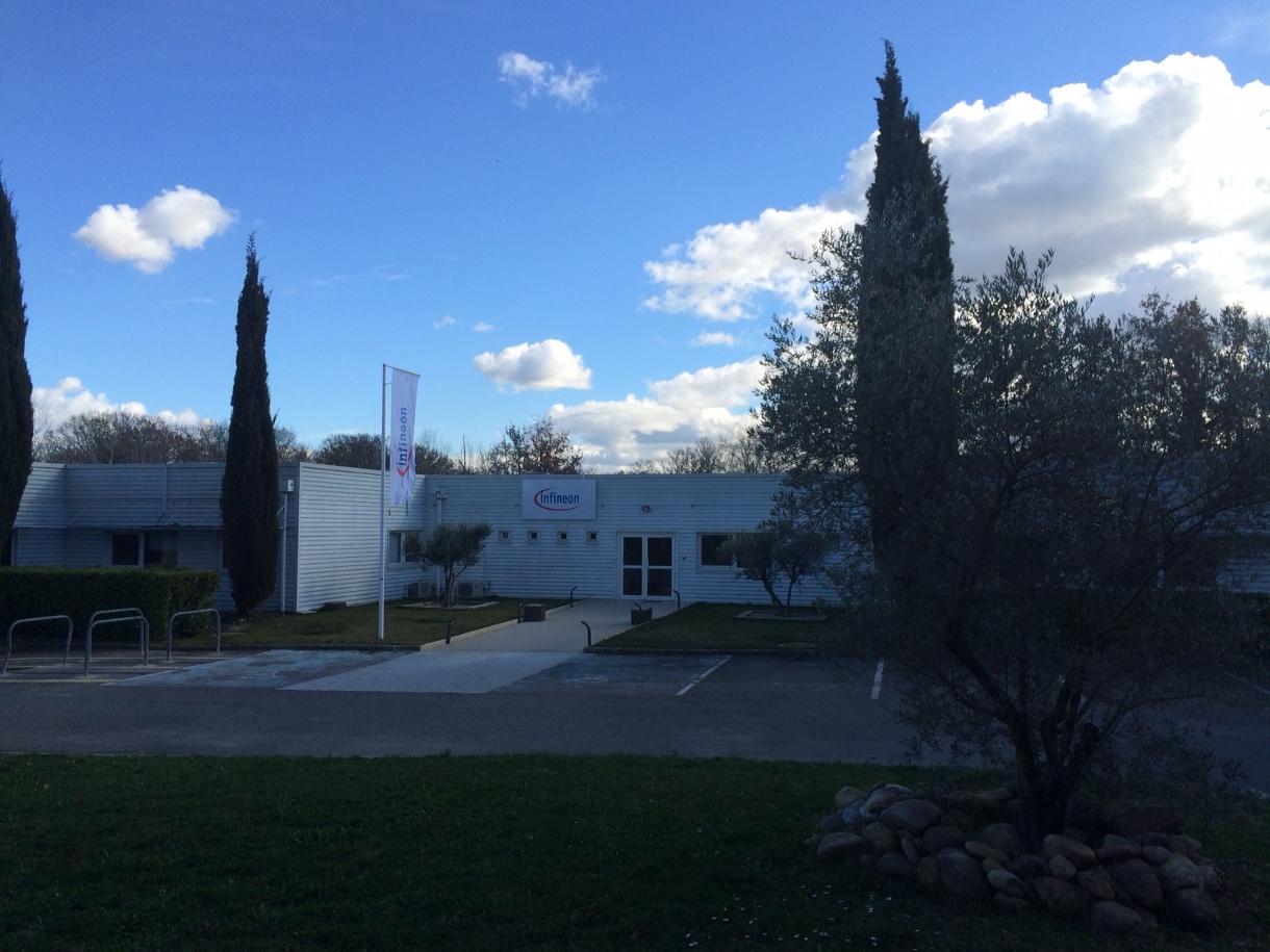 Construction Aix En Provence france - infineon technologies