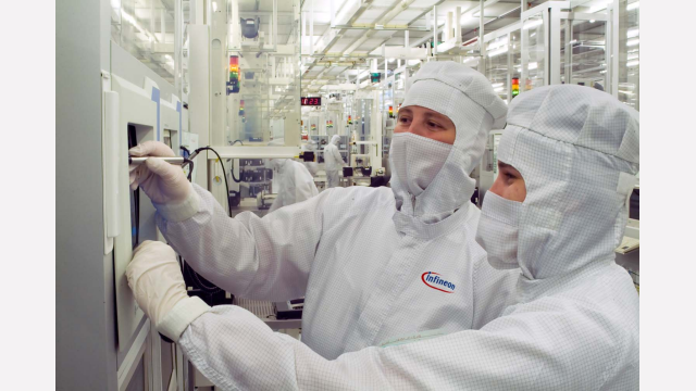 Dresden is one of the biggest production sites for Infineon.
