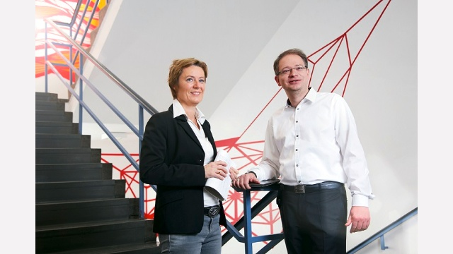 "JobSharing: ""We decided to split the responsibility for communications at the site in Regensburg. Thus, we both have more time for private interests can invest more time in voluntary work, for example.  The resulting work-life balance also has a positive impact on our day-to-day work: win-win for everyone!"""