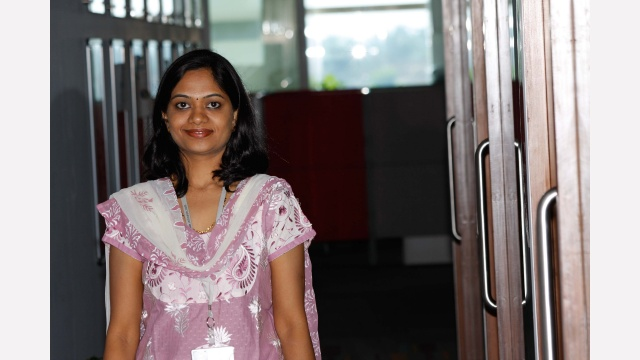 """When my daughter was 4 and my son 1 year old, I was left with no family support at home. Infineon India went ahead and offered me the option of part-time work, giving me the flexibility to both work and take care of my family."" Vani Bhujang, Member Technical Staff, Bangalore"