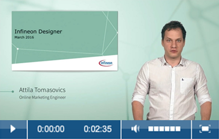 what is infineon designer