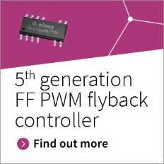 Fixed frequency PWM flyback controller CoolSET™ generation 5