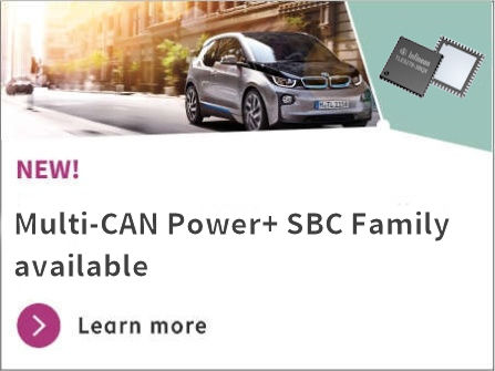 Multi-CAN- Power SBC- Family available