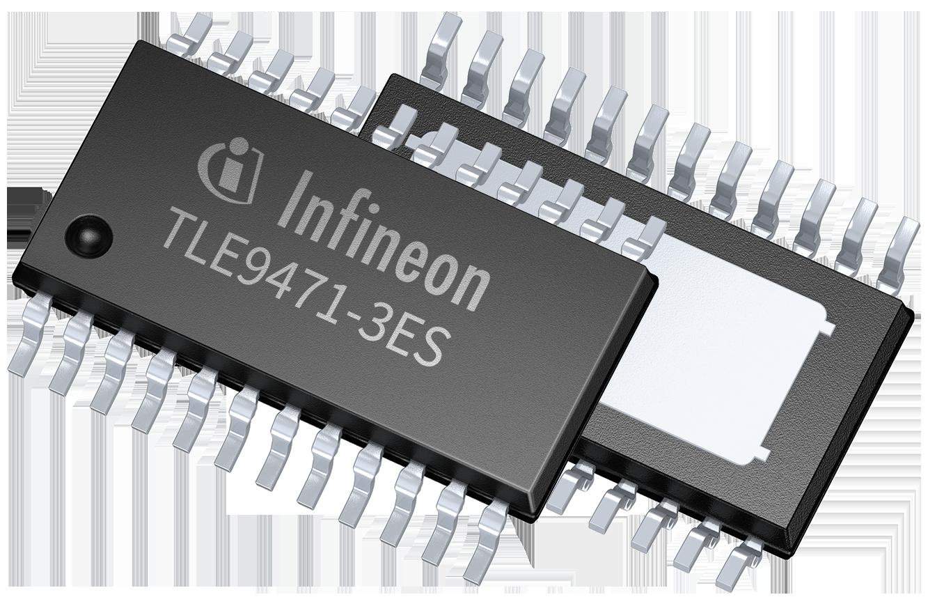 Sak Tc277tp 64f200n Dc Infineon Technologies Circuit Moreover Taps Control Additionally Volume Controller Tle9471 3es