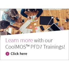 Infineon Banner CoolMOS™ PFD7 Trainings