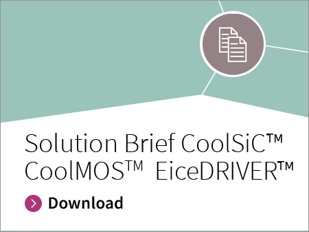Solution brief CoolSiC™ CoolMOS™ EiceDRIVER™