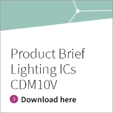 Infineon Button Product Brief Lighting ICs CDM10V