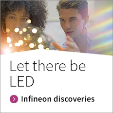 Infineon button photo Let there be LED
