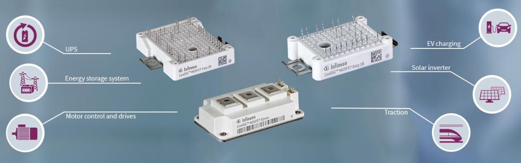 Silicon Carbide Coolsic Mosfet Modules Infineon