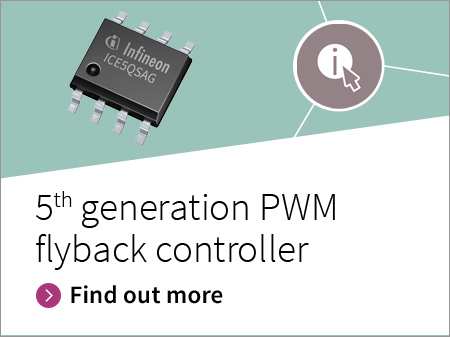 Banner CoolSET™ PWM flyback controller generation 5