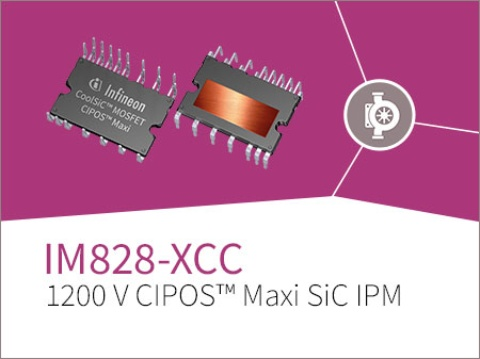 The world's first high-performance 1200 V CIPOS™ Maxi SiC IPM in the smallest and most compact package