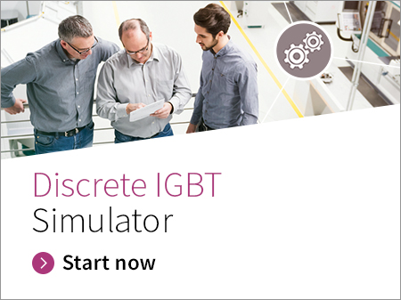 Discrete IGBT Simulator - A single switch system consisting of one IGBT and one ideal free-wheeling diode is implemented to simulate the power loss and junction temperature of the IGBT device at the given static DC voltage and current conditions. This simulation aims to evaluate an IGBT device.