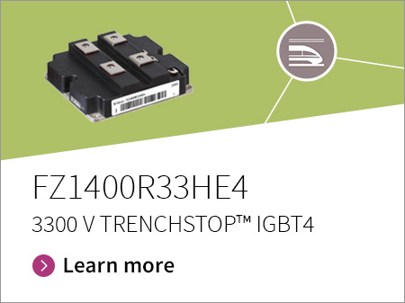 Promotion banner for FZ1400R33HE4 TRENCHSTOP IGBT4