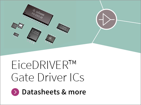 Promotion banner for EiceDRIVER Gate Driver ICs