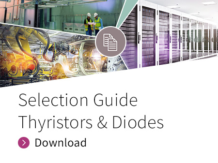 Selection Guide for Thyristors and Diodes