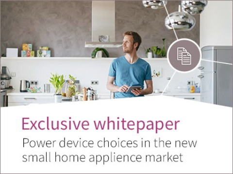 Whitepaper: Power device choices in the new small home appliance market
