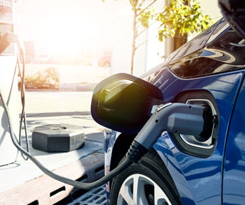 Application picture for fast EV-Charging