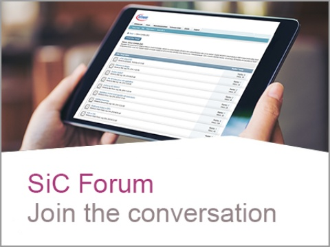 Banner for our SiC Forum - Join the conversation