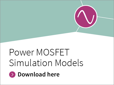 Infineon banner Power MOSFET Simulation Models