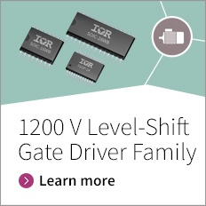Infineon offers three phase, half-bridge,  high and low-side gate driver ICs tailored for 1200 V industrial drives, commercial air-conditioning, or general purpose motor control and inverters applications.