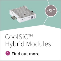 Silicon Carbide CoolSiC™ Hybrid Modules