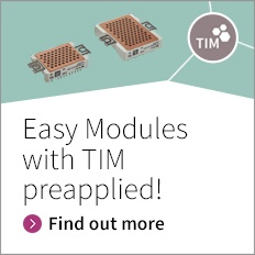 Easy Modules with TIM preapplied