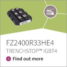 Promotion banner for FZ2000R33HE4 TRENCHSTOP IGBT4