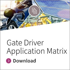 Gate Driver Application Matrix