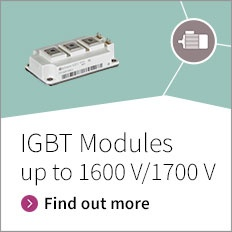Slider button for IGBT Modules up to 1600 V/1700 V