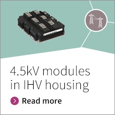 4,5 kV IGBT modules in IHV housing