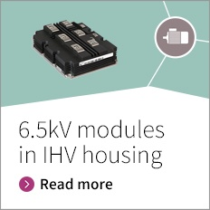 6,5 kV IGBT modules in IHV housing