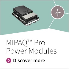 MIPAQ™ Pro is a fully qualified subsystem, integrating IGBTs, gate drivers, sensors, digital control electronics, Modbus communication and is available with liquid- as well as air cooling.