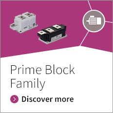 Bipolar high power thyristors and diodes Prime Block family