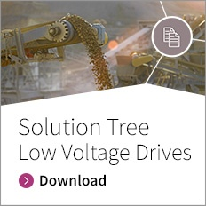 Solution Tree for low voltage drives